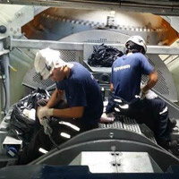 Engineers providing technical inspection