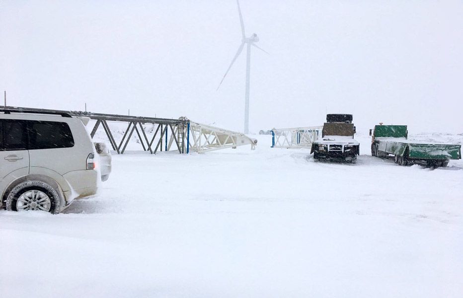 Owner's Engineer support to a 50MW wind farm in Kazakhstan