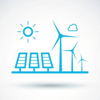 eco energy isolated minimal icon